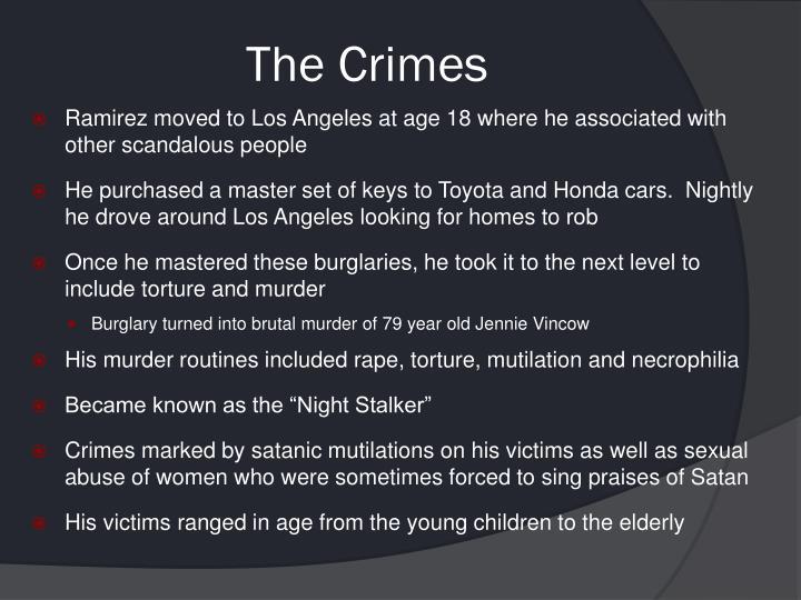 The Crimes