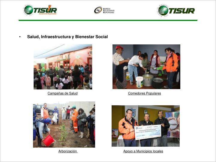 Salud, Infraestructura y Bienestar Social