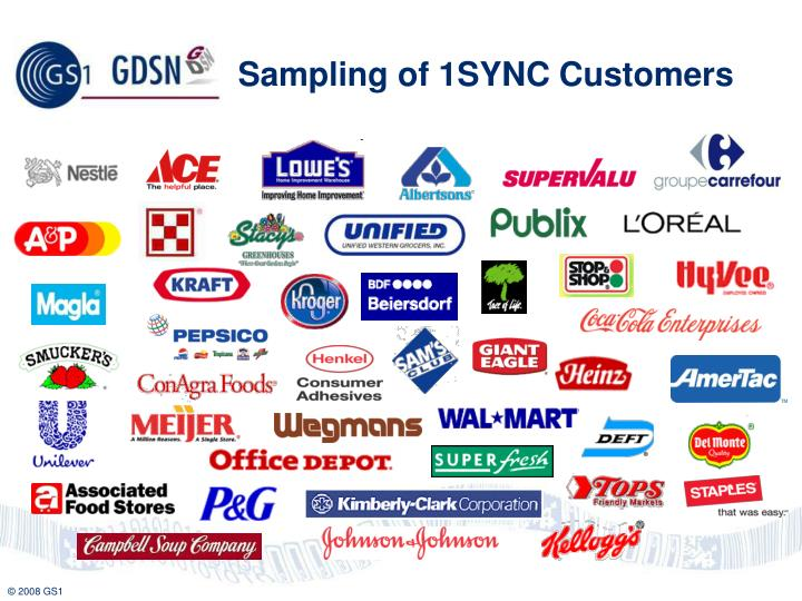 Sampling of 1SYNC Customers
