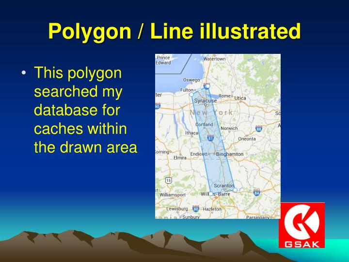 Polygon / Line illustrated