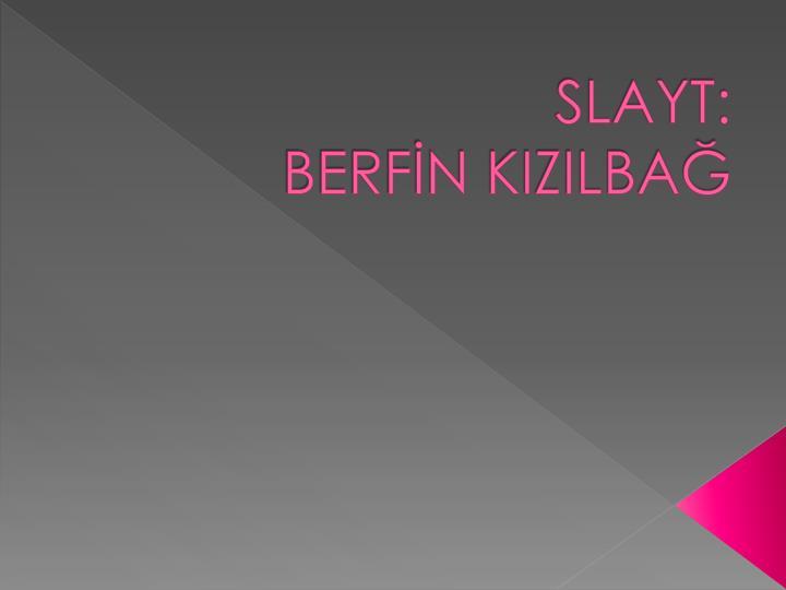 SLAYT: