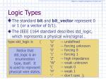 logic types