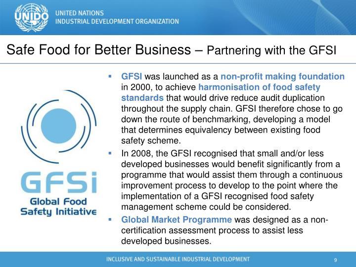 Safe Food for Better