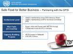 safe food for better business partnering with the gfsi1