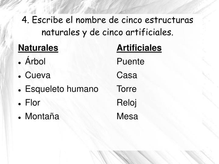 Artificiales