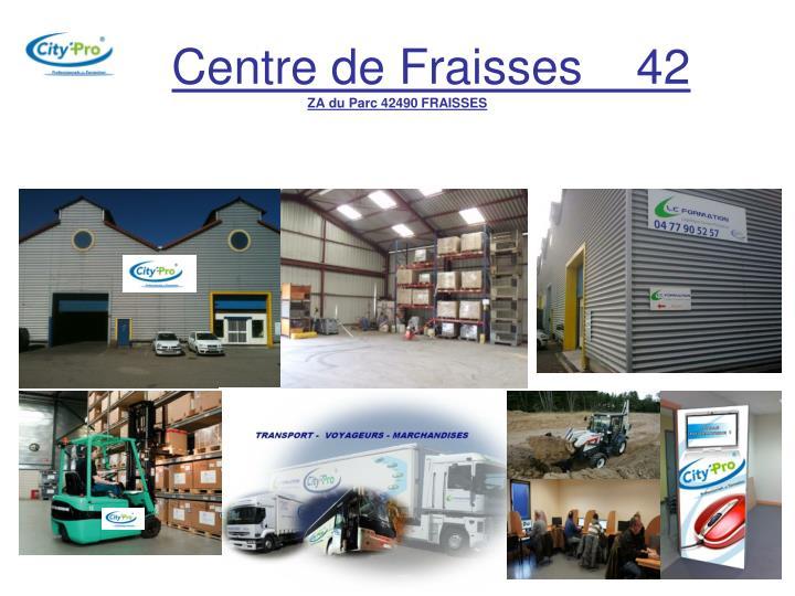 Centre de Fraisses    42