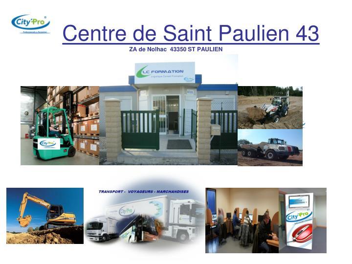 Centre de Saint Paulien 43