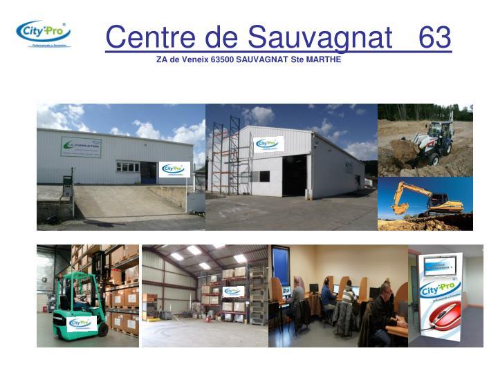 Centre de Sauvagnat   63