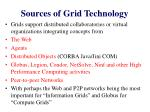 sources of grid technology