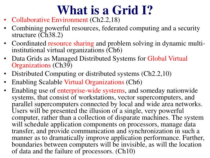 What is a grid i