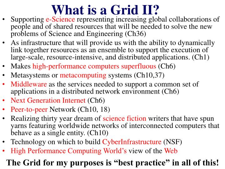 What is a Grid II?