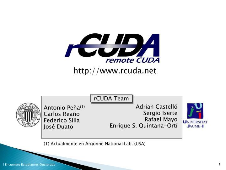http://www.rcuda.net