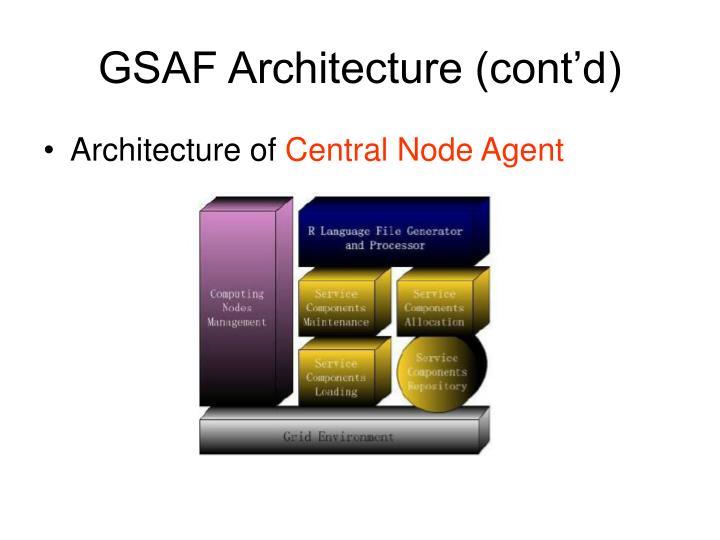 GSAF Architecture (cont'd)