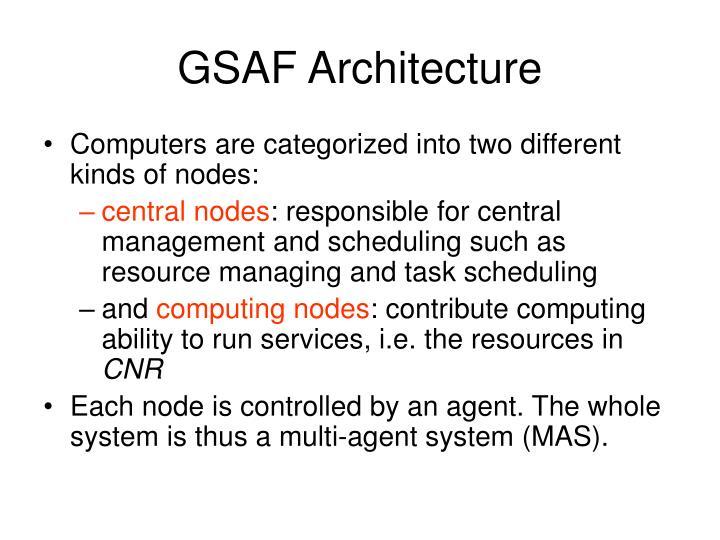 GSAF Architecture