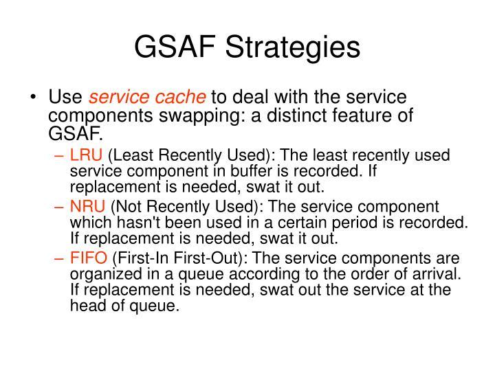GSAF Strategies