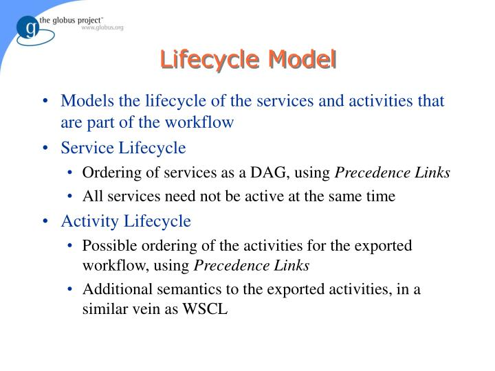 Lifecycle Model