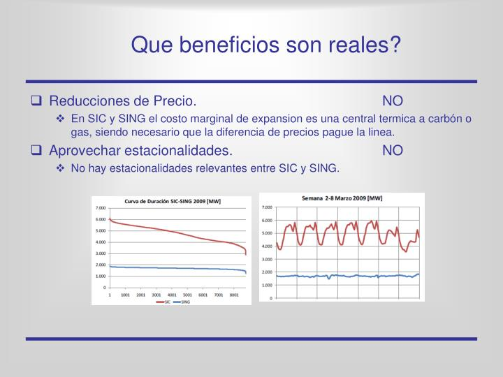 Que beneficios son reales?