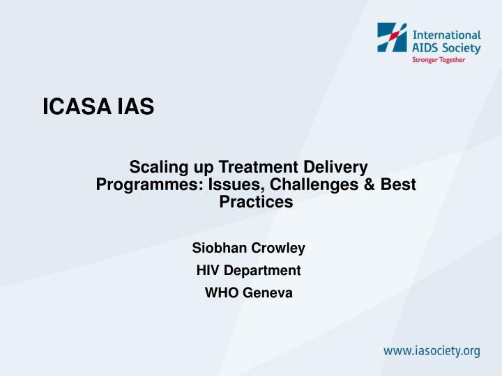 ICASA IAS