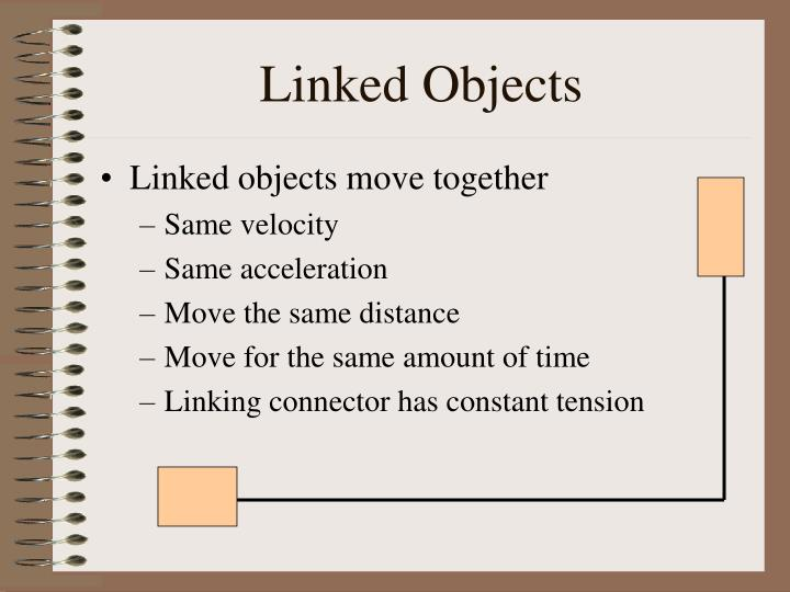 Linked objects