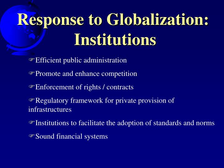Response to Globalization: