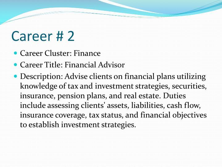 Career # 2