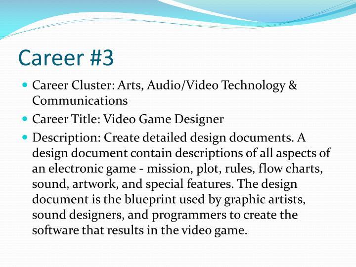 Career #3