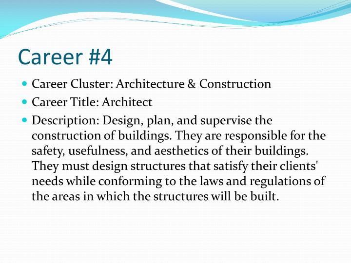 Career #4