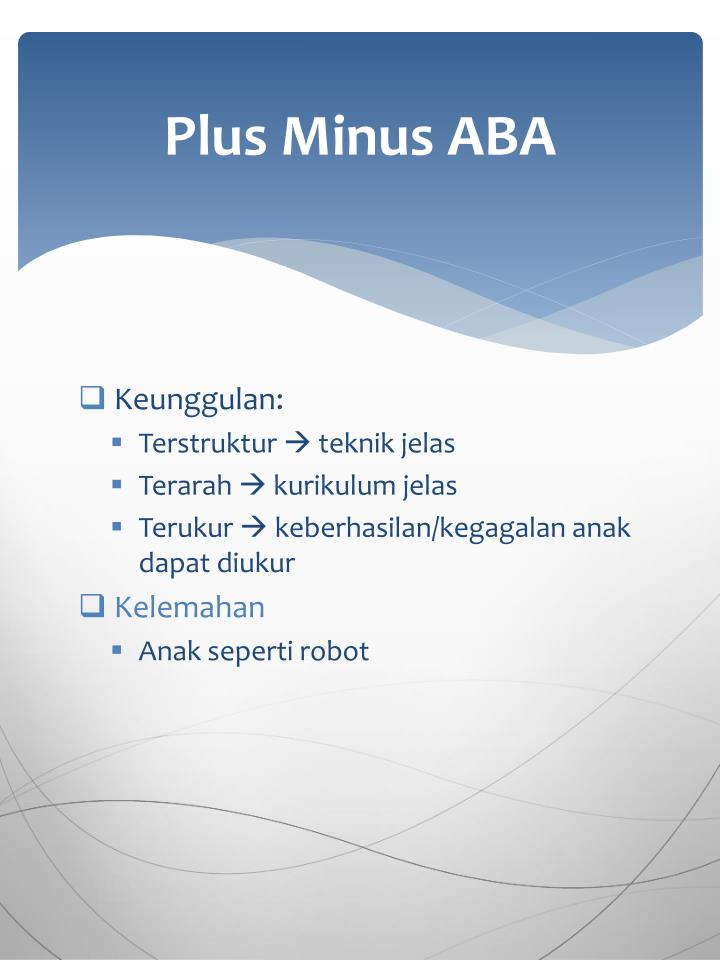 Plus Minus ABA
