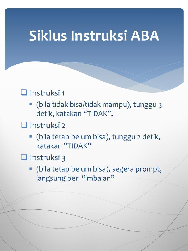 Siklus Instruksi ABA