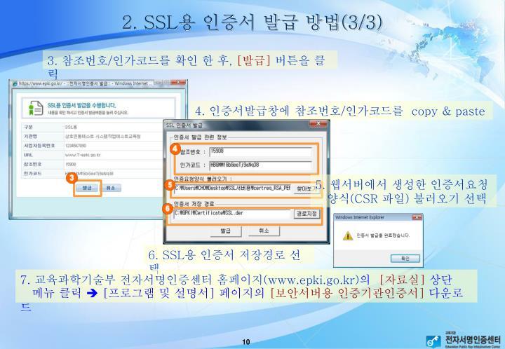 2. SSL