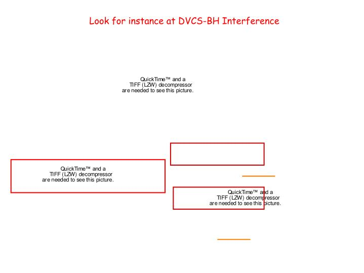 Look for instance at DVCS-BH Interference