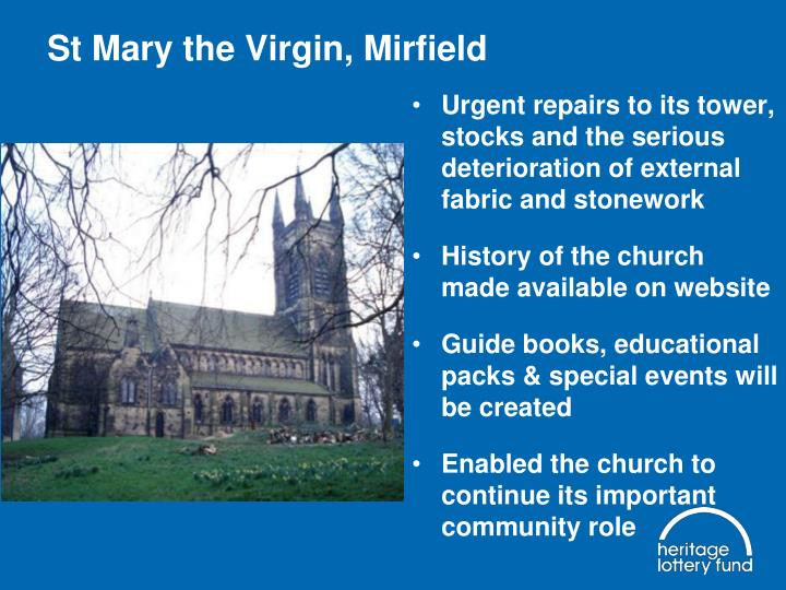 St Mary the Virgin, Mirfield