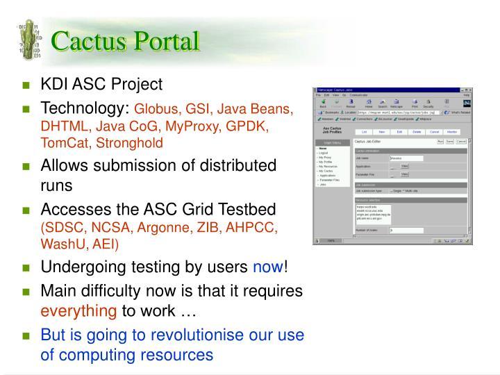 Cactus Portal
