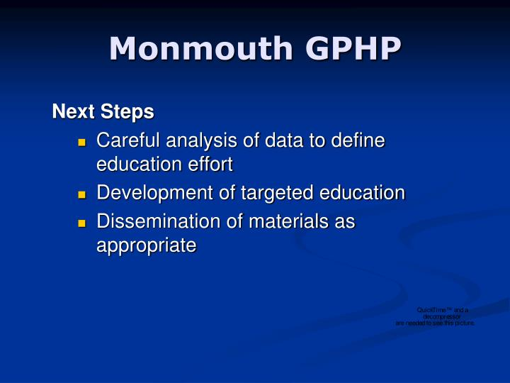 Monmouth GPHP