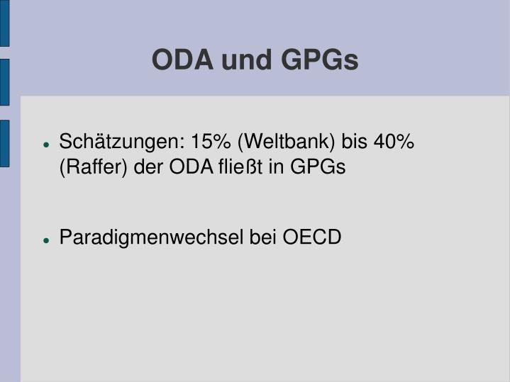 ODA und GPGs