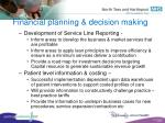 financial planning decision making