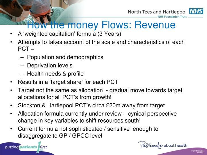 How the money Flows: Revenue
