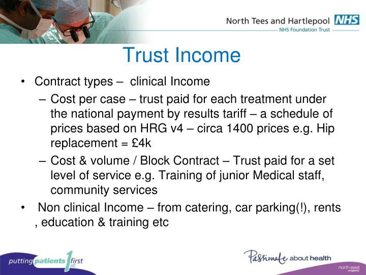 Trust Income