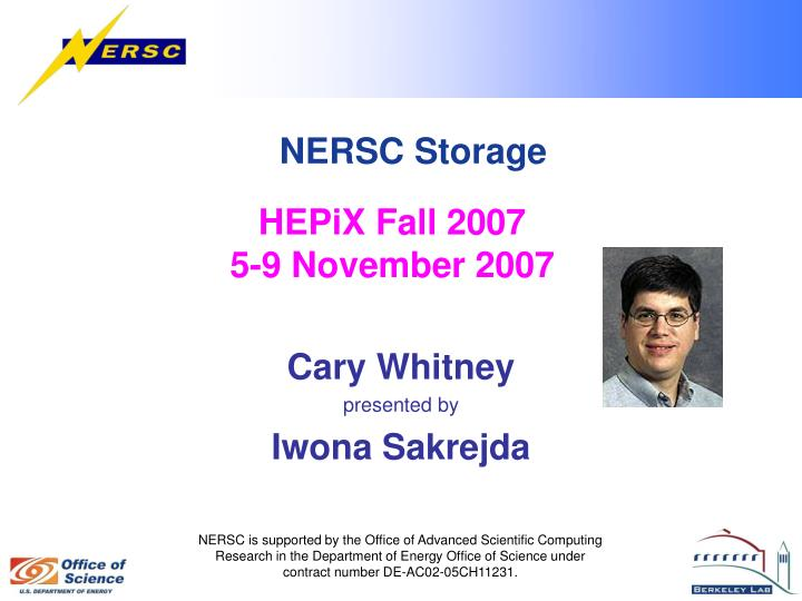 HEPiX Fall 2007