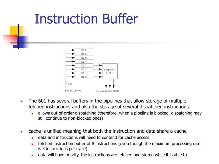 Instruction Buffer