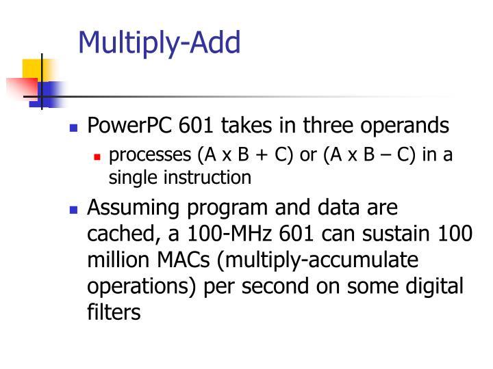 Multiply-Add