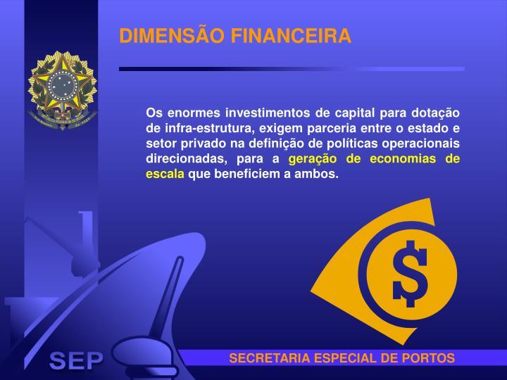 DIMENSÃO FINANCEIRA