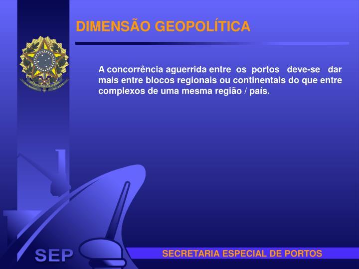 DIMENSÃO GEOPOLÍTICA