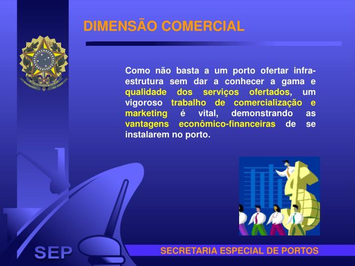DIMENSÃO COMERCIAL