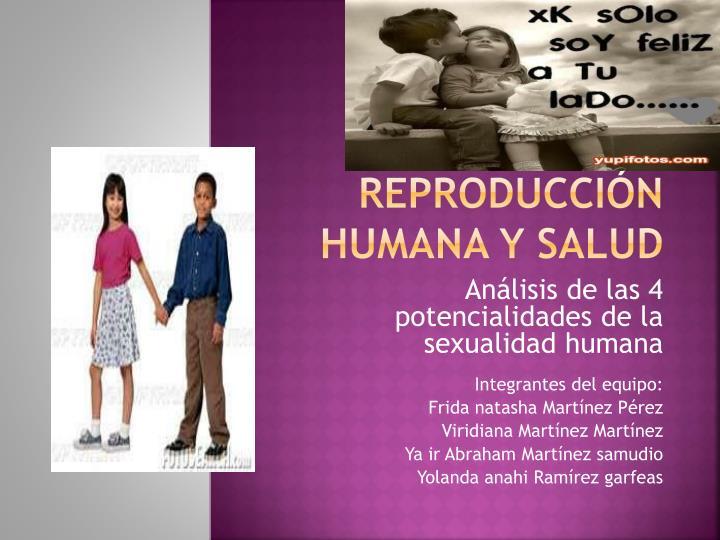 Reproducción humana y salud