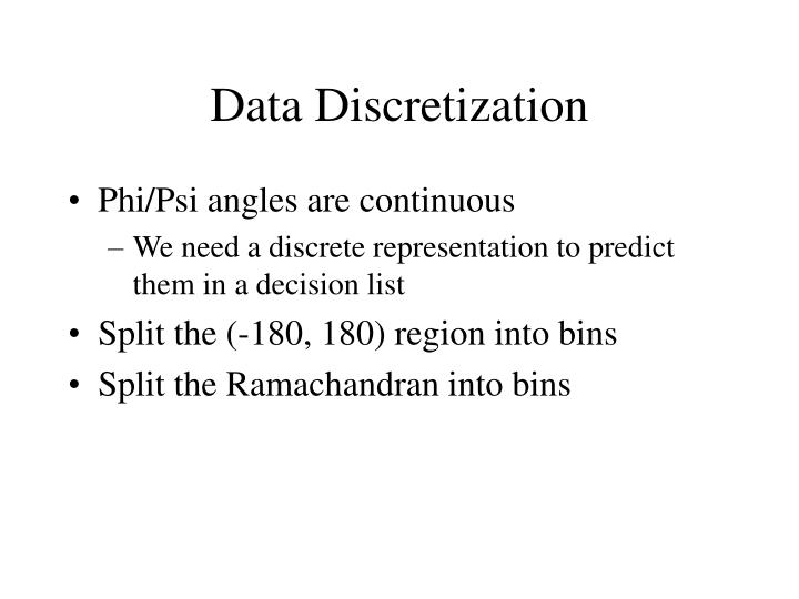 Data Discretization