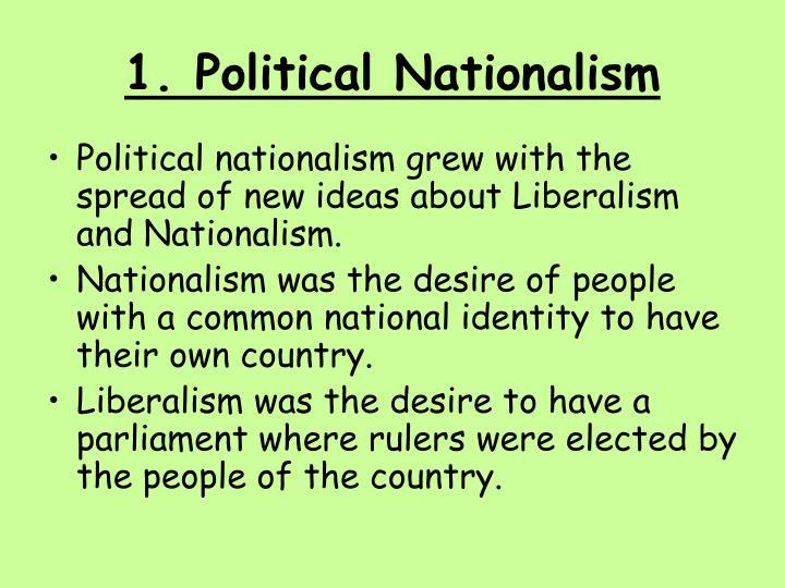 1. Political Nationalism