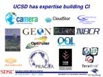 ucsd has expertise building ci