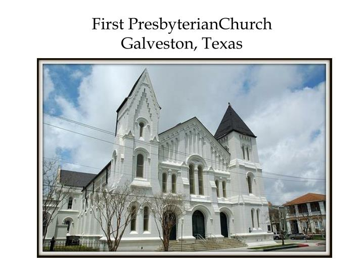 First PresbyterianChurch