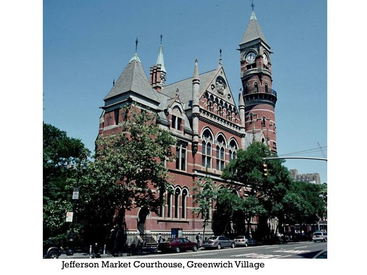 Jefferson Market Courthouse, Greenwich Village